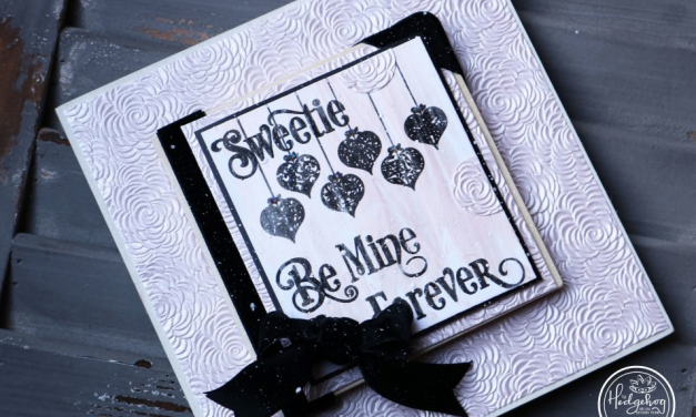 Be Mine Keepsake with Karen Jiles