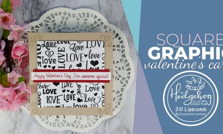 Square Graphic Valentine's Card