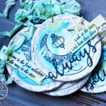 """""""Always Believe"""" Mixed Media Tags"""