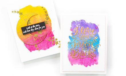 SUPER FAST Faux Watercolor Backgrounds with Jenny Colacicco