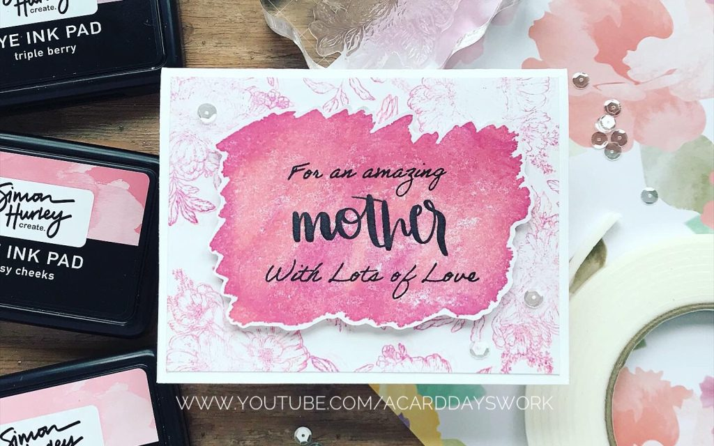 Easy Floral Mother's Day Card