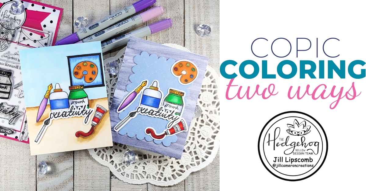 Copic Coloring Two Ways