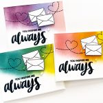 Simple Colorful Cards Using the March 2020 Subscription Kit!