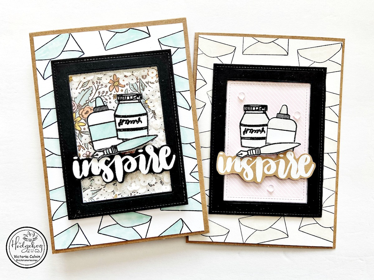 Create an Easy Window and Shaker Card!