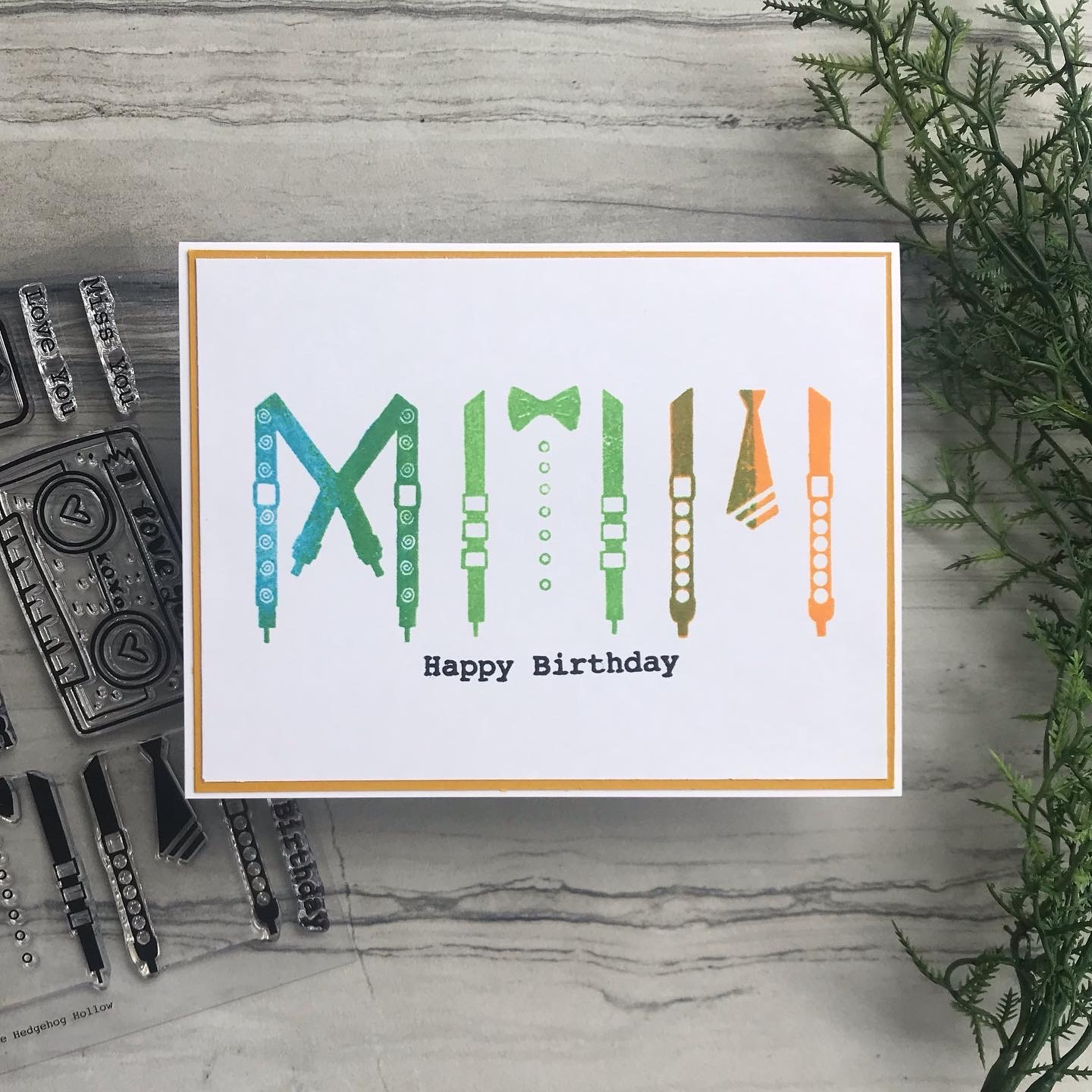 Super Easy Birthday Card!