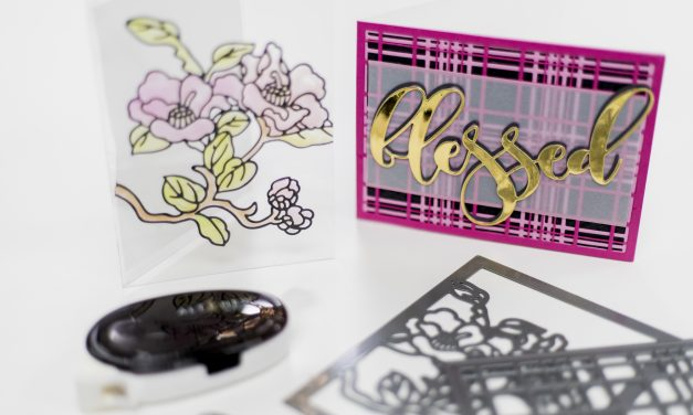 Easy cards with dies for Altenew's 6th Anniversary Blog Hop Day 3 + Giveaway