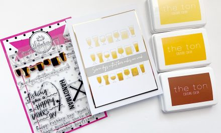 Three Tone Stamping using the Seven Days Stamp Set