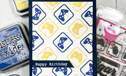 Birthday Card for the little Gamer in your life!