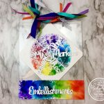 Rainbow Wallhanging with Hedgehog Hollow