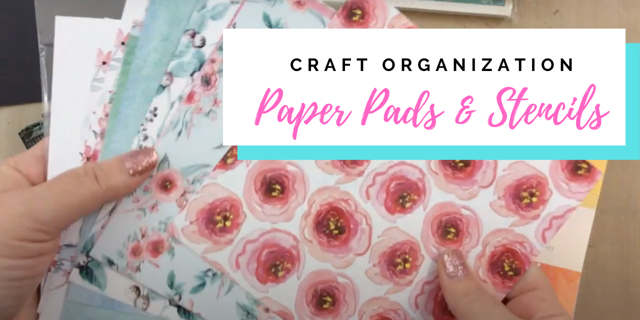 Stencil and 6×6 Paper Organization with the May Kit