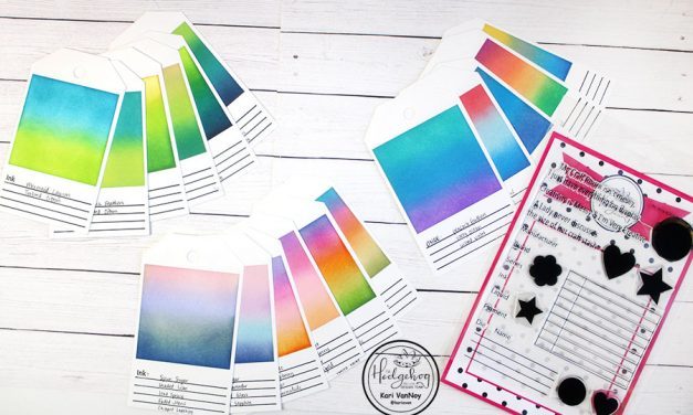 Ink Blending Tags Made Easy with the May Kit