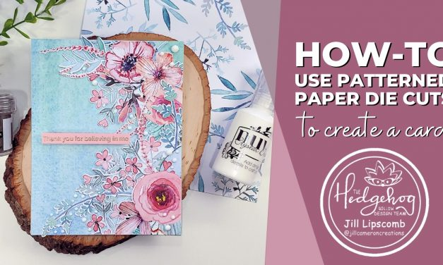How-to: Use Patterned Paper Die-Cuts to Create a Card