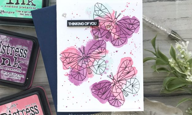 Easy Loose Watercolor with Distress Inks