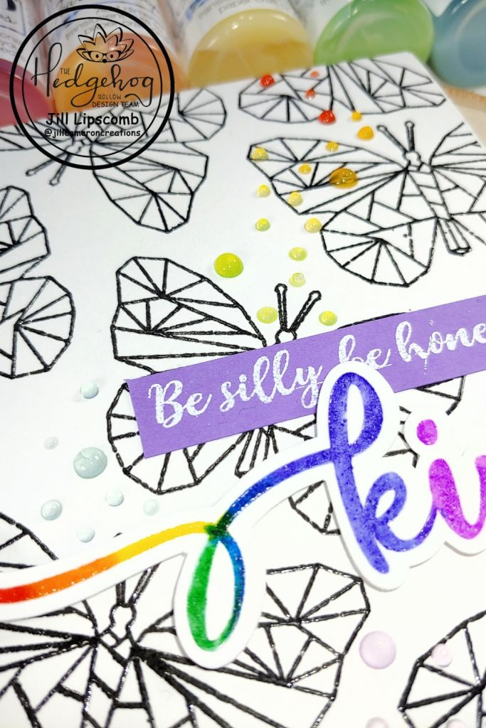 Stamping with Tombow Markers using Hedghog Hollow June 2020 kit