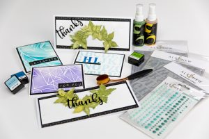 easy cardmaking with a few supplies