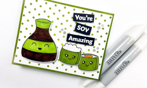 You're Soy Amazing! Fun Kawaii Card