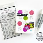 You're Sweet! Food with personality stamp set!