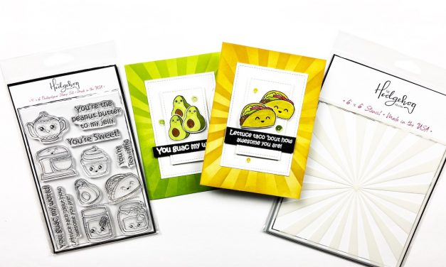 Taco 'bout these cute Stamps! July Subscription box