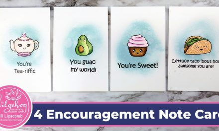 Four Encouragement NoteCards