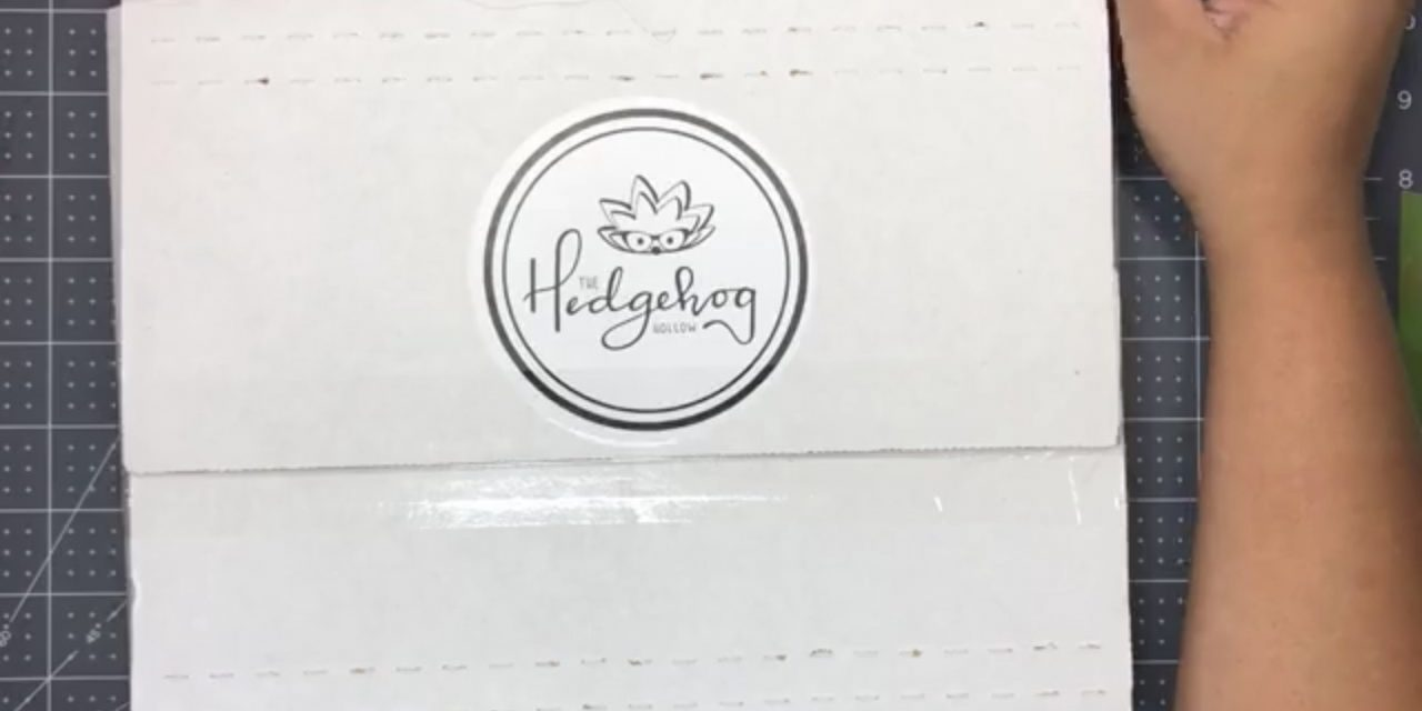 Live crafting with The Hedgehog Hollow. July subscription box live opening.