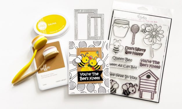 You're the bee's knees – A Fun Shaker Card