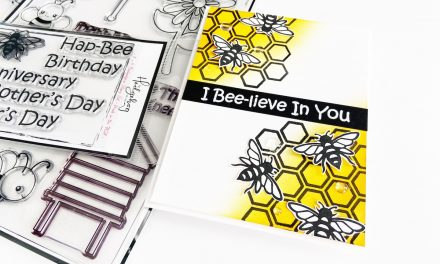 I Bee-Lieve In You   Simple Encouragement card