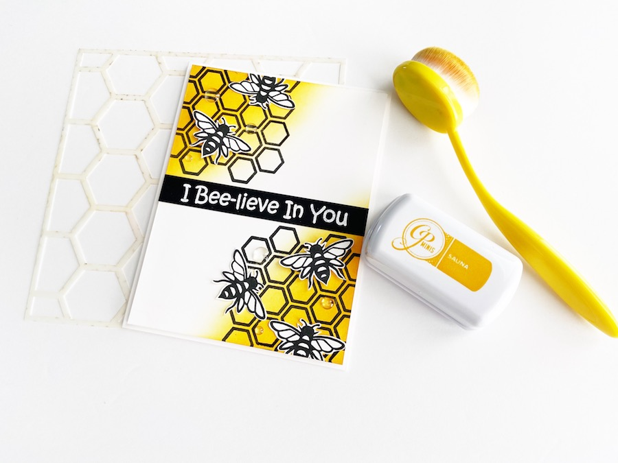I BEE-LIEVE IN YOU | SIMPLE ENCOURAGEMENT CARD