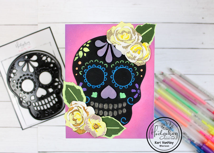 SUGAR SKULL DIE 2 WAYS!