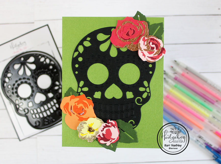 HOW TO USE A SUGAR SKULL DIE 2 WAYS!