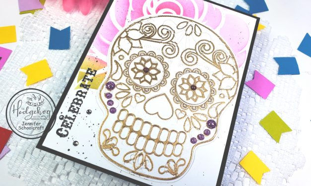 Layering Dies with the September Subscription Box | Sugar Skulls