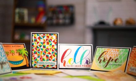 Essentials to card making course