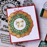 Joyous Noel – Traditional Christmas Wreath card
