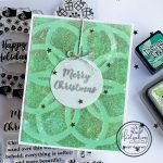 Stenciling with Glitter Paste –  Video Tutorial