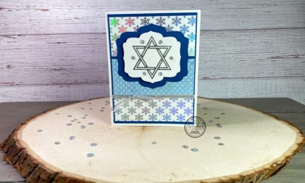 A Beautiful Hanukkah Card