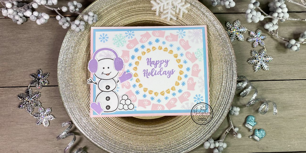 I lost my mitten!  Fun Snowman card!