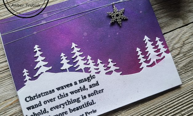 A SHIMMERY CHRISTMAS NIGHT SKY WITH MAKER FORTE