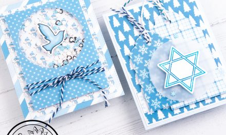 2 Quick and Easy Hanukkah Cards with Amanda