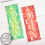 Believe Slimline Ink-Blended Cards