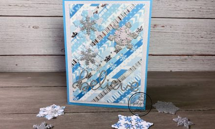 Believe Snowflake Card