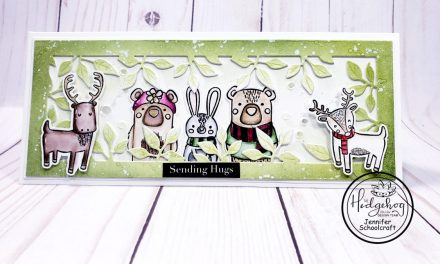 Forest Friends Slimline Card