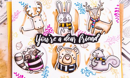 You're a Dear Friend – Forest Friends Card