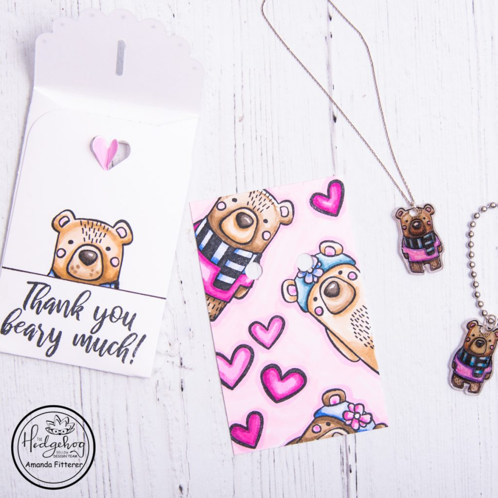 VIDEO:  DIY NECKLACE, KEYCHAIN, AND GIFT PACKAGING