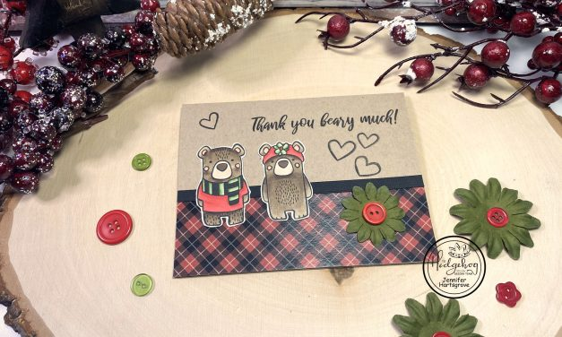 A Beary Cute Card with Jennifer H.