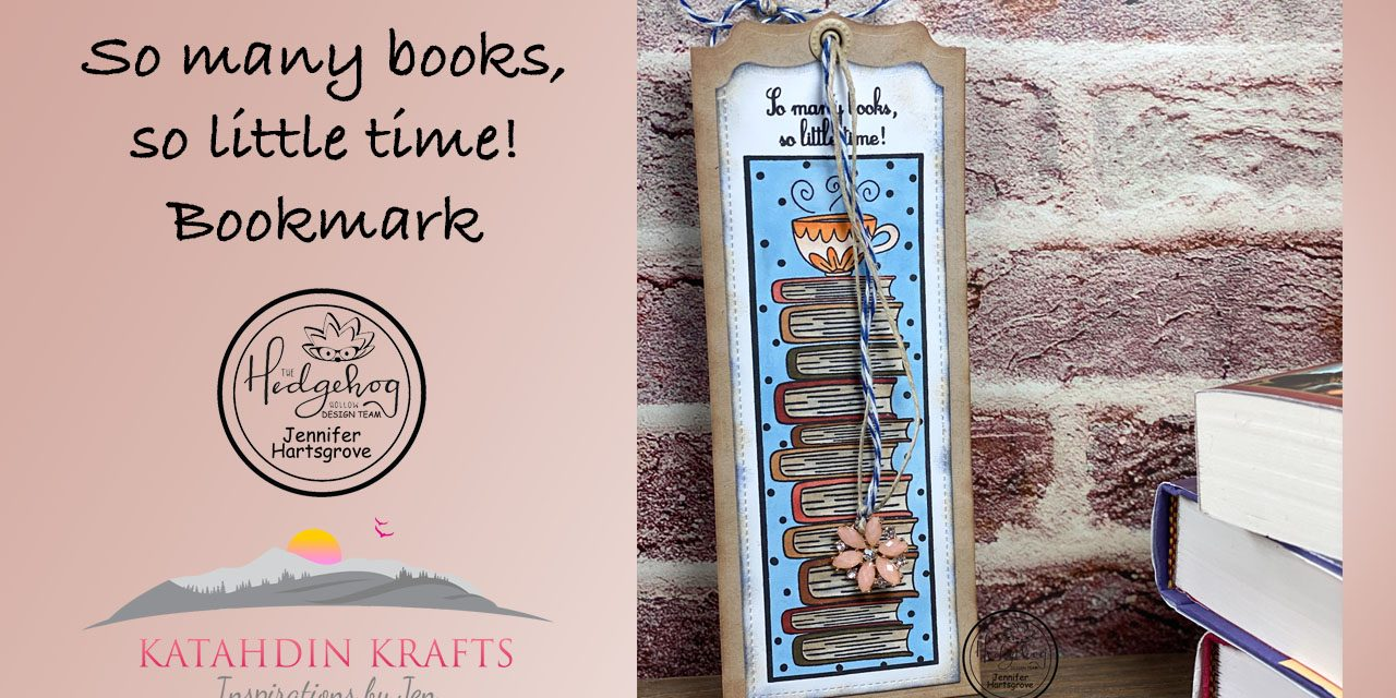 So Many Books, So Little Time!  Bookmark