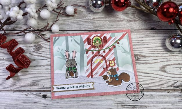 Forest Friends Warm Winter Wishes