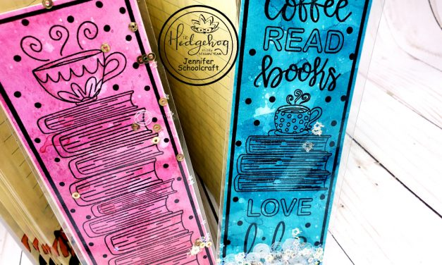 creating shaker bookmarks using the january subscription box
