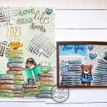 Art Journal page with matching card