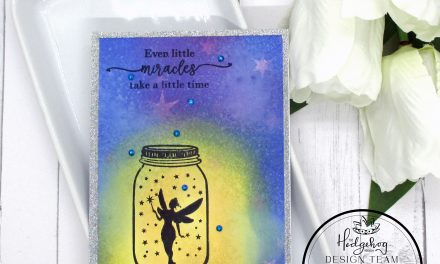A Fairy Card With sparkle and Sheen