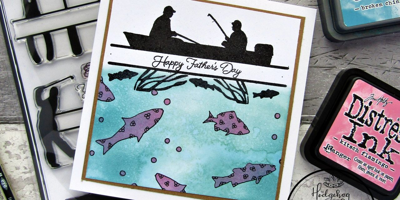 Gone fishing card for father's day