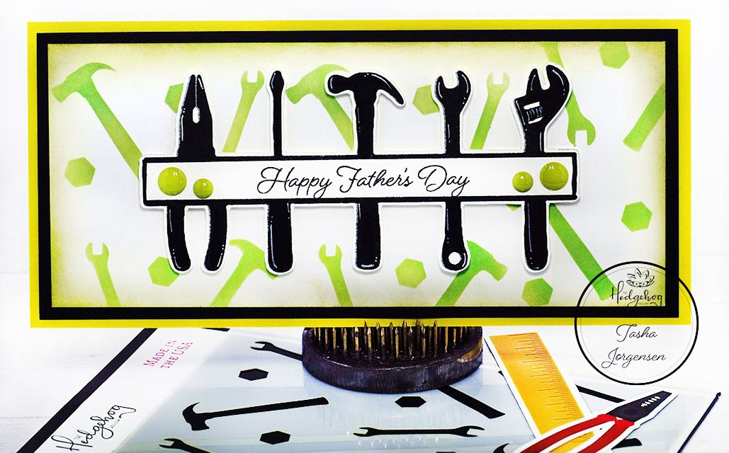 Father's Day Slimline Card (VIDEO TUTORIAL)